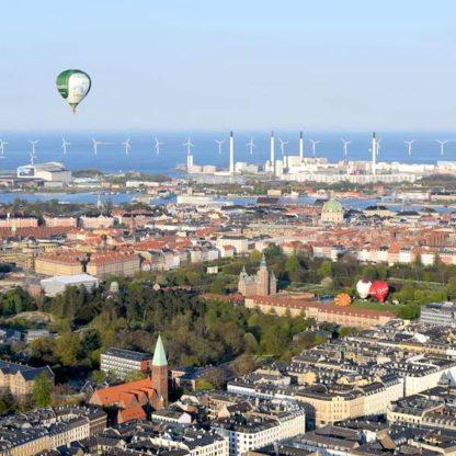 Ballonflyvning over København med DreamBalloon