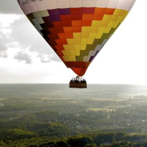 Billet til ballonflyvning for 2 personer