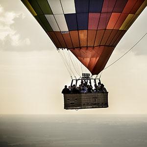 Oplev smukke flyvninger over Danmark l luftballon