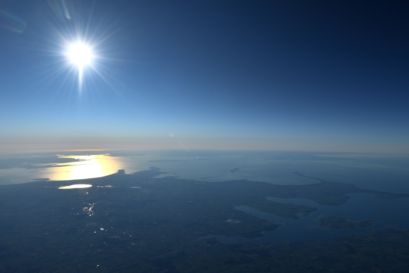 billede fra ballonflyvning